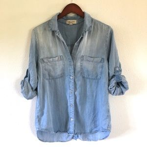 Cloth and Stone Chambray Button Down